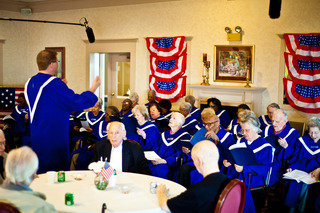 American House Senior Living Community Patriot Choir Celebrates Independence Day