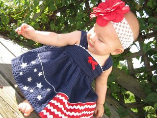 Cara's First  4th of July!!