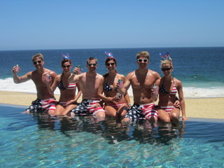 July 4th in Cabo San Lucas Mexico at Grand Solmar