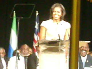 How to act like a East Memphian with First Lady Michelle Obama 6/28/2012