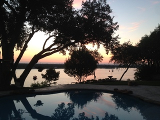 Sunrise over Lake Granbury, Granbury TX