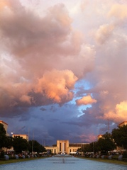 Fair Park clouds