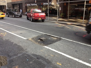 Sink hole at 21st st