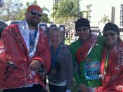 Freezing in St Pete Fla. Rock n Roll marathon 2012