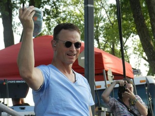 Gary Sinise at Fort Riley