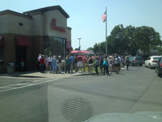 Chick-fil-A Day in Brentwood, TN