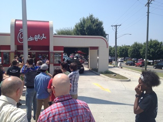 Chick-fil-a Appreciation Day in Lynchburg, VA