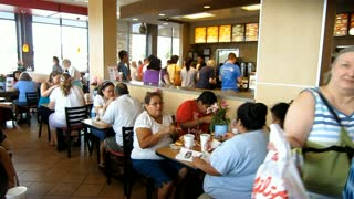 Chick-fil-A Appreciation Day 1 Aug 2012 in Seven Corners, Virginia