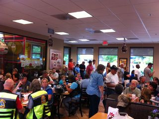 Downingtown Chick-Fil-A Packed!