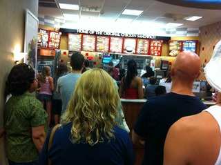 "Massive ""Buycott"" at the Only Chick-Fil-A in the state of Wisconsin, Racine, Wi."
