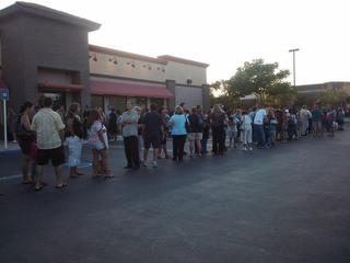 Chick-fil-A Appreciation Day, Corona CA