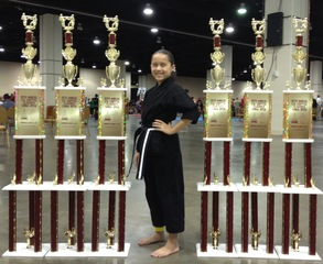 Karate Champ Wins at Washington DC