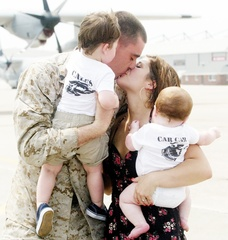 A Marine's Homecoming