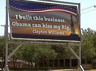 Billboard from Midland TX