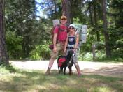 fourth of July backpacking in Idaho!