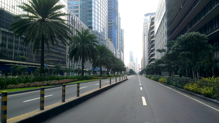 Sunday Morning at Ayala Avenue