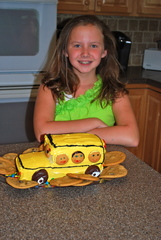 Smiles and School Bus Cake!