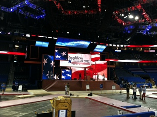 GOP Convention Stage