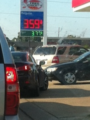 Inflated gas prices
