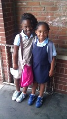 1st day of Warner elementary school my grandkids