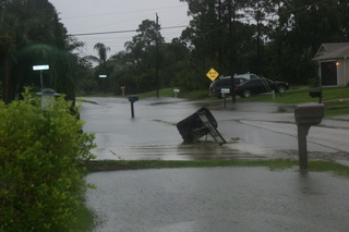 Flooding from Isaac