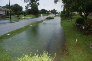 12 inches of rain on Monday 8/27/2012