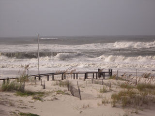 Morning tide not good in Fort Morgan-Gulf Shores