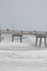 Hurricane Isaac in Fort Walton Beach, Florida
