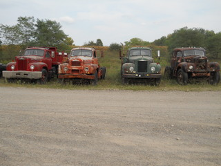 "Historical ""Mack"" trucks..."
