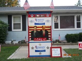 Huge yard sign