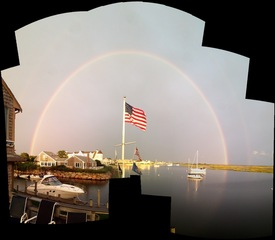 180 degree rainbow plus