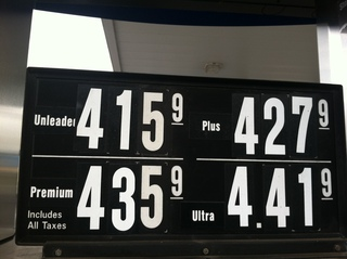 Gas price in NY