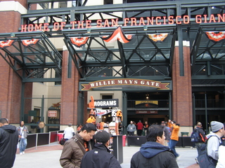 AT&T Park land of the San Francisco Giants