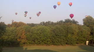 Plano Balloon Festival -- View from Parker TX