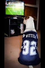 Dallas representing his team!!