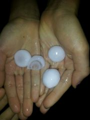 Hail in Missouri