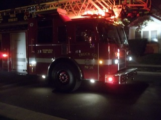Fire on 25th and Becher @ 3am fri. oct. 5th,2012