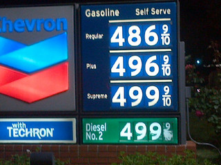 Gasoline Price in Newburry California