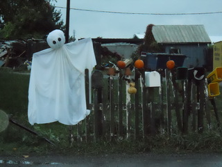 Halloween mailbox designs.