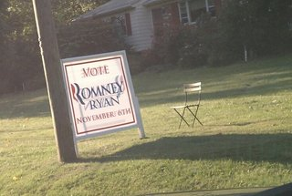 Empty Chair in Northern Virginia