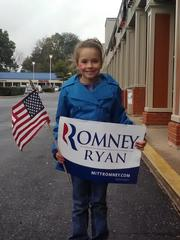 1st grader for Romney