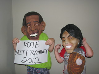 Even Barack & Michelle to vote for Romney