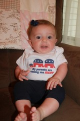 Cute republican baby