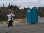 Mile 11 at Spokane Half Marathon