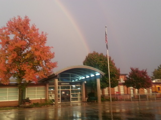 Rainbow over West County