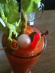 Shaggy Dog Bloody Mary Mix...Just the Right Bite!