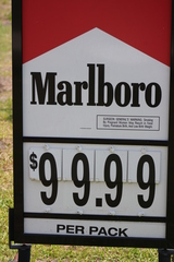 And you thought cigarettes were expensive back home!!!