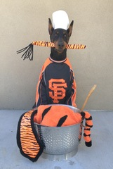 "Chef Gunai're cooking up some ""Tiger Stew"" Go Giants!!!!  From Saratoga CA!!!"