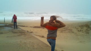 Hurricane Sandy, Sandbridge beach, VA