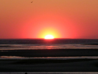 Sunset Over Cape Cod Bay
